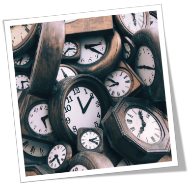 …Hearing the 'Tick – Tock' of Time!