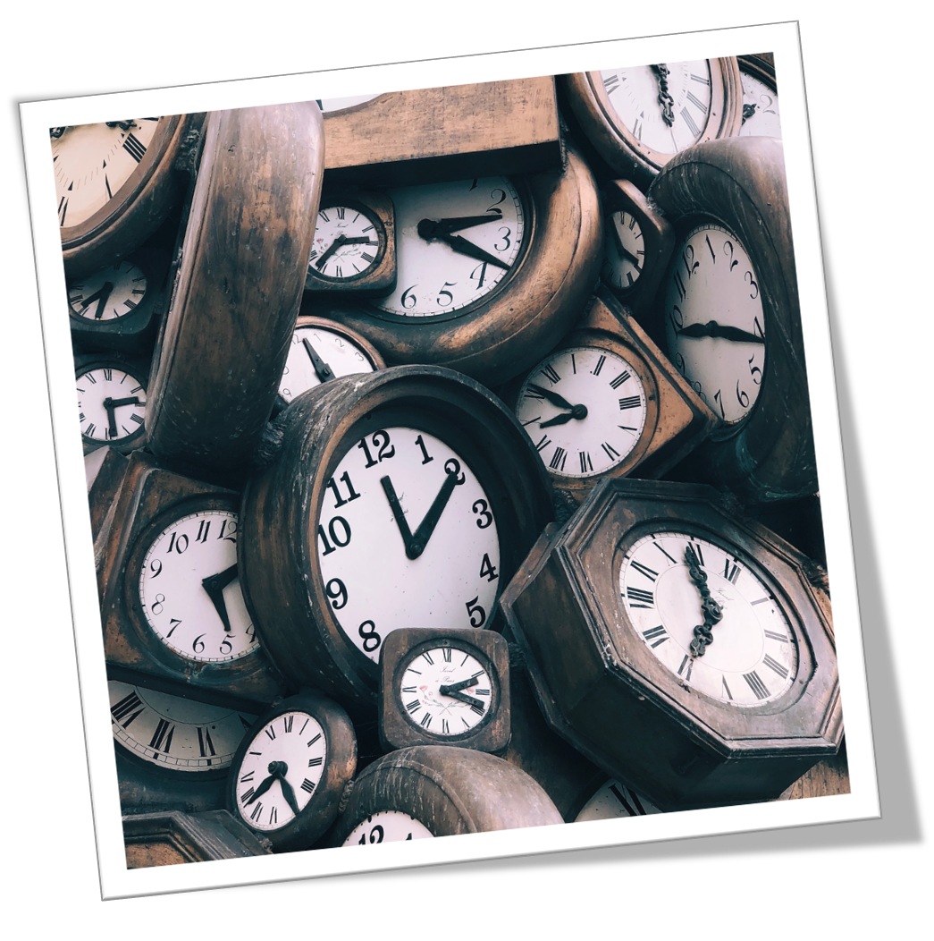 ...Hearing the 'Tick - Tock' of Time!